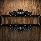 Iron vintage ornament — Stock Photo