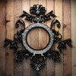 Stock Photo: Vintage iron frame