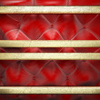 Gold on fabric background - Stockfoto