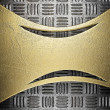 Background with gold - Stock Photo