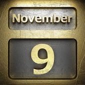 9 Kasım altın üye — Stok fotoğraf