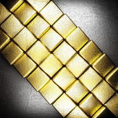 Gold and silver background — Stock Photo