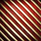 Red wood and gold background — Stock Photo