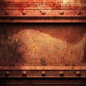 Zvětralé kovové pozadí — Stock fotografie