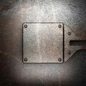 металлический фон — Стоковое фото