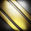 Gold and silver background — Lizenzfreies Foto