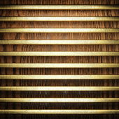 Gold and wood background — Stock Photo