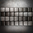 Metal background - Stockfoto