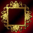 Vector golden frames set - Image vectorielle