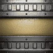 Goldenen und silbernen Hintergrund — Stockvektor