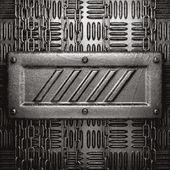 Metal background — Wektor stockowy