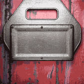 Stary tło metalowe — Wektor stockowy