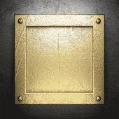Gold und silber hintergrund — Stockvektor