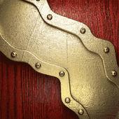 золото и древесины фон — Cтоковый вектор