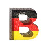 Vektor germany cutted abbildung b — Stockvektor