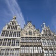 Traditional houses in Antwerp, Belgium — Foto de stock #24749037