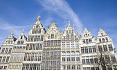 Traditional houses in Anwerp, Belgium — Stockfoto