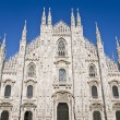 Duomo Cathedral, Milan, Italy — Stock Photo