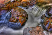 Creek Rapids in High Dynamic Range — Stock Photo