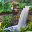 Peaceful Waterfall in High Dynamic Range — Stock Photo