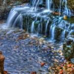Beautiful cascading waterfall in High Dynamic Range — Stock Photo #26117233