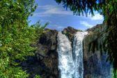 Водопад в Hdr — Стоковое фото