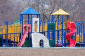 Дети игровая площадка — Стоковое фото