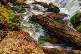 Beautiful River Waterfall in HDR High Dynamic Range — Stock Photo
