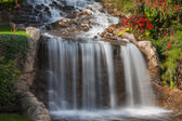 Beautiful Waterfall in soft focus — Stock Photo