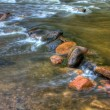 HDR of River Rapids. — Stock Photo