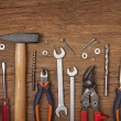 Set of different tools — Foto Stock #10681426