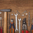 Set of different tools — Stock Photo #10681426