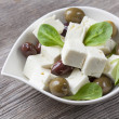 Feta cheese cubes — Stock Photo #12116372