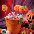 Halloween sweets - Stock Photo