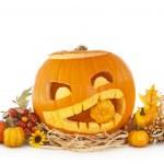 Abóboras de Halloween — Foto Stock