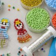Bead craft — Stock Photo