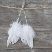 Andělská křídla — Stock fotografie