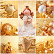 Golden christmas — Stock Photo #13451136