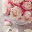 Pink roses — Stock Photo #13689893