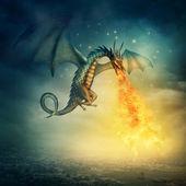 Drak — Stock fotografie