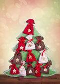 Advent calendar — Stock Photo