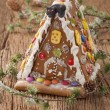 Gingerbread house — Stock Photo #14811947