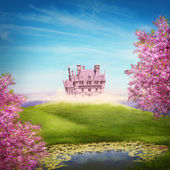 Fairy tale landscape — Stock Photo