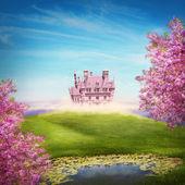 Fairy tale landscape — Stock Photo