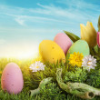 Easter eggs — Stock Photo #18413719