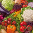 Assortment of fresh vegetables - Foto de Stock