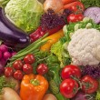 Assortment of fresh vegetables — Stock Photo #19515627