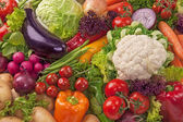 Assortment of fresh vegetables — ストック写真