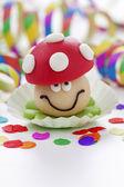 Marzipan mushroom — Stock Photo