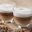 Cappuccino caffee — Stock Photo